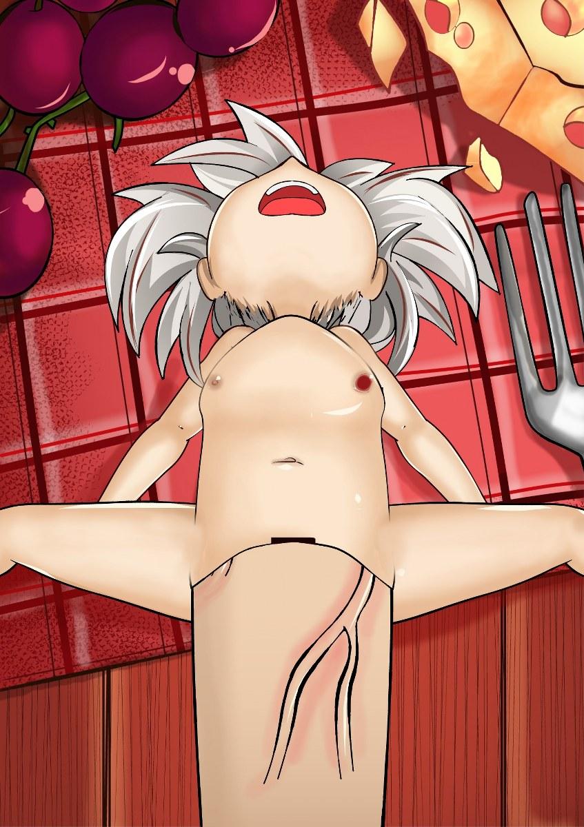 [NO TEXT - ARTIST CG] Izuna Kazuki ~ A Super Food Paimon Hentai